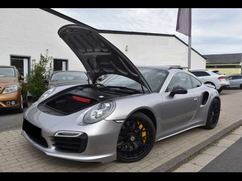 Porsche 911 Type 991 3.8 Turbo S PDK Gris occasion à BEAUPUY - photo n°9