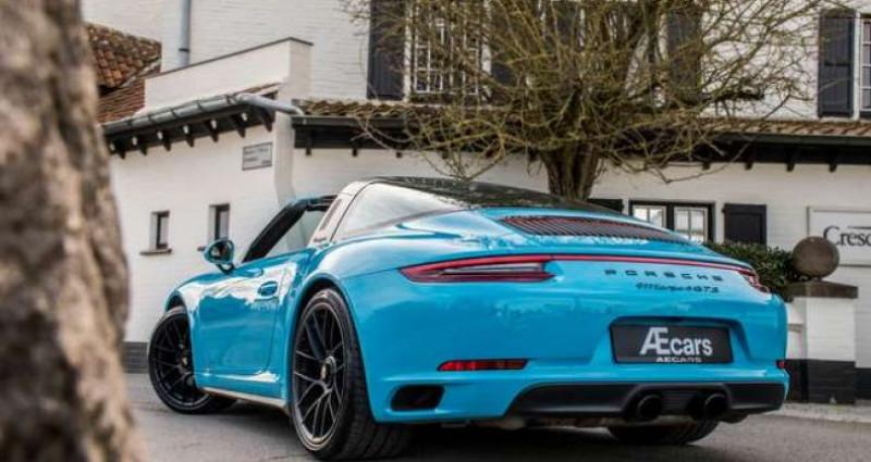 Porsche 911 Type 991 4 GTS 991.2 SPORT CHRONO - LIFT - BOSE Bleu occasion à IZEGEM