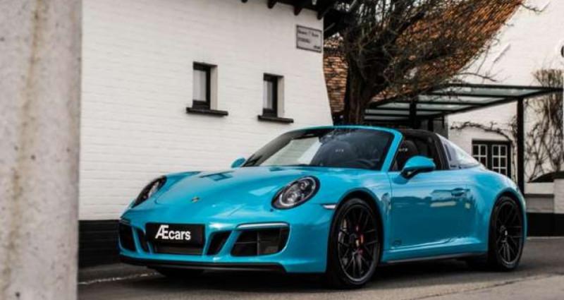 Porsche 911 Type 991 4 GTS 991.2 SPORT CHRONO - LIFT - BOSE Bleu occasion à IZEGEM - photo n°2