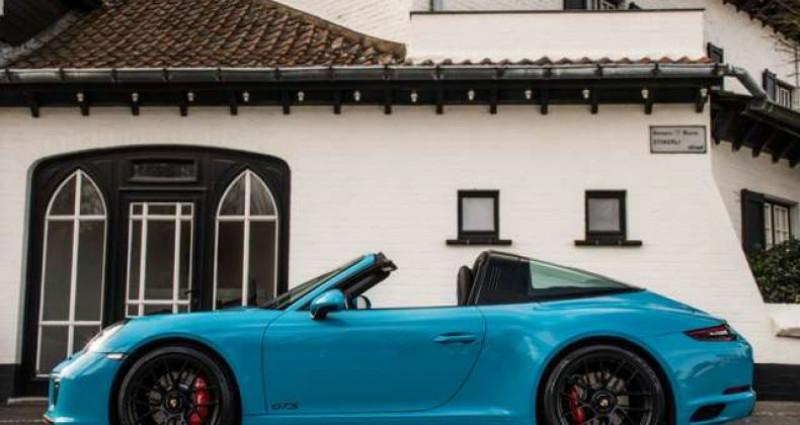Porsche 911 Type 991 4 GTS 991.2 SPORT CHRONO - LIFT - BOSE Bleu occasion à IZEGEM - photo n°3