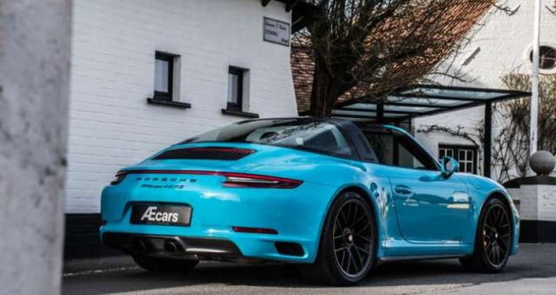 Porsche 911 Type 991 4 GTS 991.2 SPORT CHRONO - LIFT - BOSE Bleu occasion à IZEGEM - photo n°5