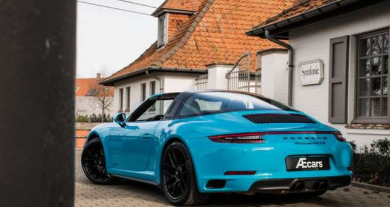 Porsche 911 Type 991 4 GTS 991.2 SPORT CHRONO - LIFT - BOSE Bleu occasion à IZEGEM - photo n°6