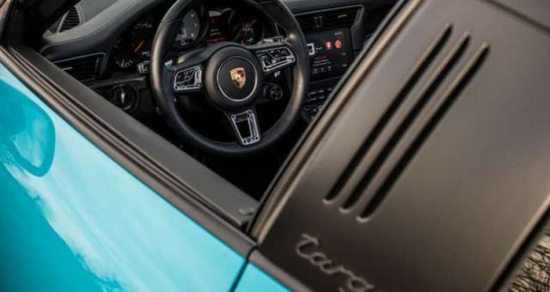 Porsche 911 Type 991 4 GTS 991.2 SPORT CHRONO - LIFT - BOSE Bleu occasion à IZEGEM - photo n°7