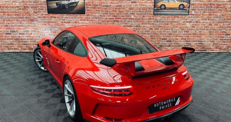 Porsche 911 Type 991 991 (2) GT3 4.0 500ch Rouge occasion à Taverny - photo n°2