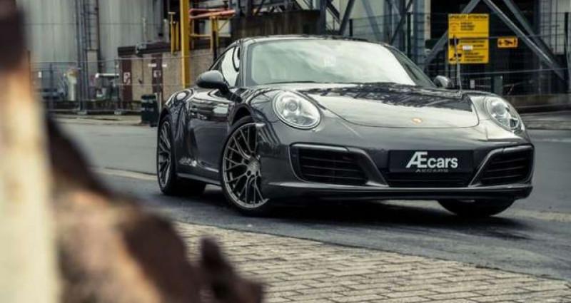 Porsche 911 Type 991 991.2 - CARRERA 4 - PDK - PANOROOF - BELGIAN Gris occasion à IZEGEM