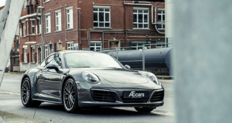Porsche 911 Type 991 991.2 - CARRERA 4 - PDK - PANOROOF - BELGIAN Gris occasion à IZEGEM - photo n°6