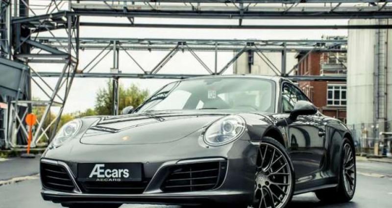 Porsche 911 Type 991 991.2 - CARRERA 4 - PDK - PANOROOF - BELGIAN Gris occasion à IZEGEM - photo n°3