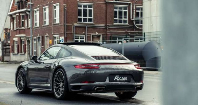 Porsche 911 Type 991 991.2 - CARRERA 4 - PDK - PANOROOF - BELGIAN Gris occasion à IZEGEM - photo n°4