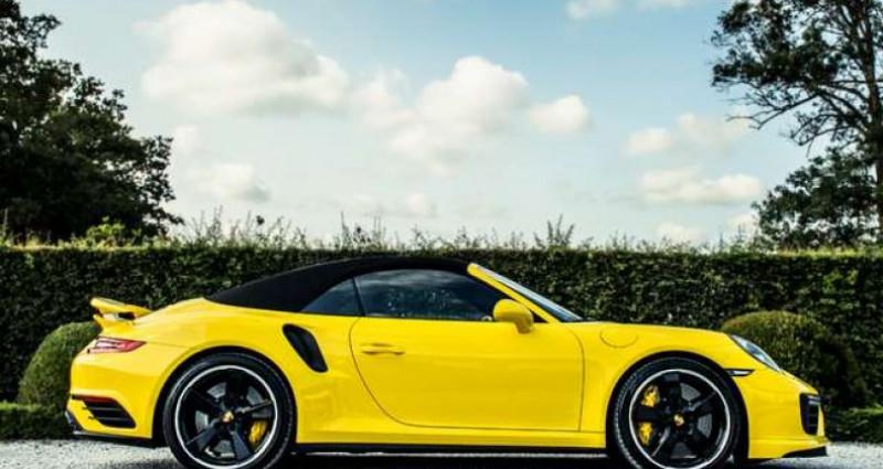 Porsche 911 Type 991 991.2 TURBO S - 1 OWNER - FULL - CARBON Jaune occasion à IZEGEM - photo n°7