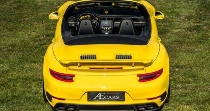 Porsche 911 Type 991 991.2 TURBO S - 1 OWNER - FULL - CARBON Jaune occasion à IZEGEM - photo n°6