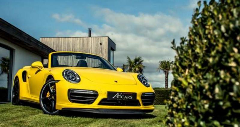 Porsche 911 Type 991 991.2 TURBO S - 1 OWNER - FULL - CARBON Jaune occasion à IZEGEM - photo n°3