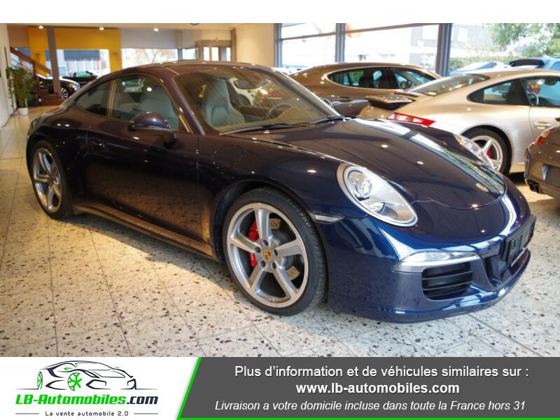 Porsche 911 Type 991 991 3.8i carrera 4S 400 PDK Bleu occasion à Beaupuy - photo n°9