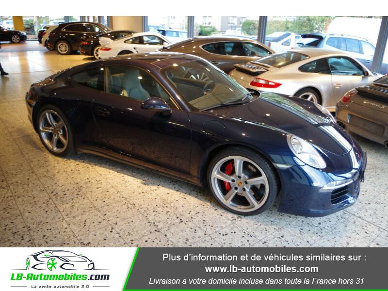 Porsche 911 Type 991 991 3.8i carrera 4S 400 PDK Bleu occasion à Beaupuy - photo n°7