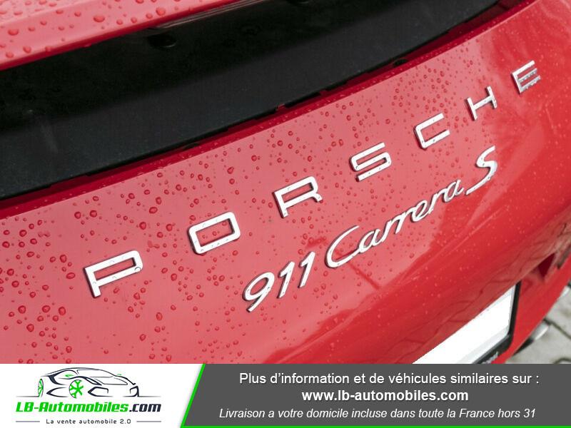Porsche 911 Type 991 991 3.8i carrera S 400 PDK Rouge occasion à Beaupuy - photo n°8