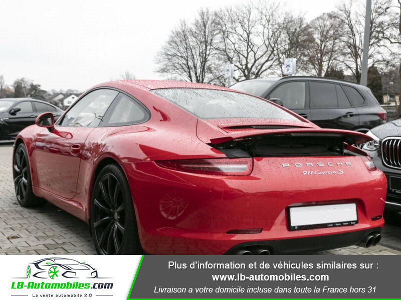 Porsche 911 Type 991 991 3.8i carrera S 400 PDK Rouge occasion à Beaupuy - photo n°3