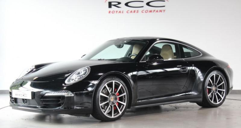 Porsche 911 Type 991 991 4S Noir occasion à Le Port Marly - photo n°2