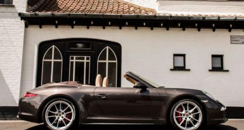 Porsche 911 Type 991 991 C4S - CABRIO - SPORT EXHAUST - BELGIAN  occasion à IZEGEM - photo n°5