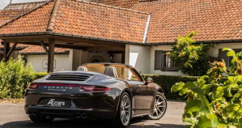 Porsche 911 Type 991 991 C4S - CABRIO - SPORT EXHAUST - BELGIAN  occasion à IZEGEM