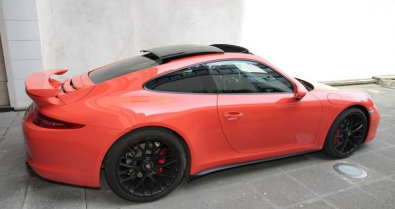 Porsche 911 Type 991 991 carrera 4 gts aero kit 430hp 2 Orange occasion à Neuilly Sur Seine - photo n°4