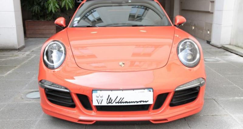 Porsche 911 Type 991 991 carrera 4 gts aero kit 430hp 2 Orange occasion à Neuilly Sur Seine - photo n°2