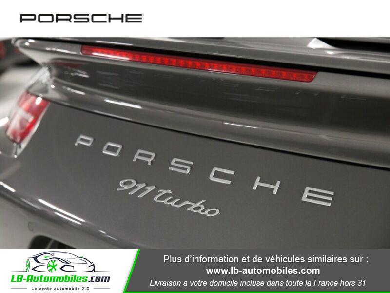 Porsche 911 Type 991 991 Coupe 3.8i Turbo 520 PDK Gris occasion à Beaupuy - photo n°7