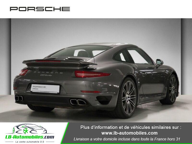 Porsche 911 Type 991 991 Coupe 3.8i Turbo 520 PDK Gris occasion à Beaupuy - photo n°3