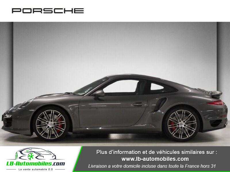 Porsche 911 Type 991 991 Coupe 3.8i Turbo 520 PDK Gris occasion à Beaupuy - photo n°11