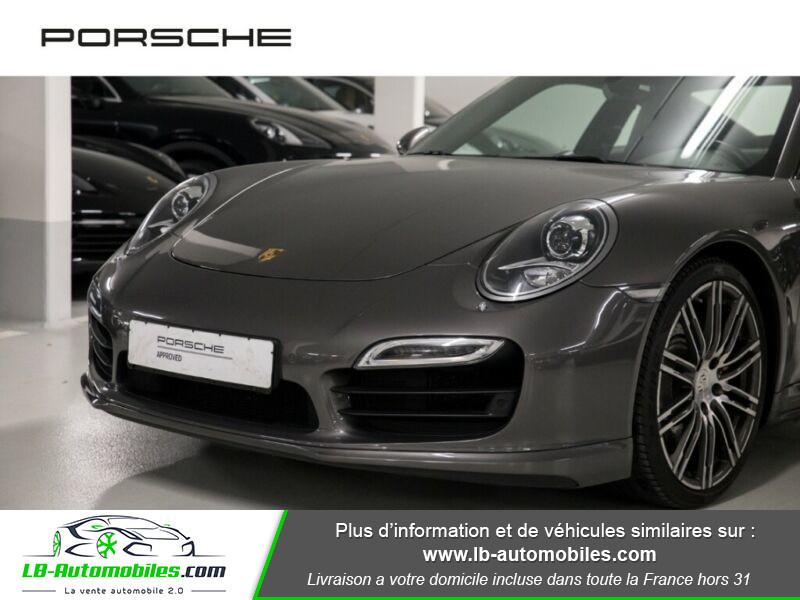 Porsche 911 Type 991 991 Coupe 3.8i Turbo 520 PDK Gris occasion à Beaupuy - photo n°9