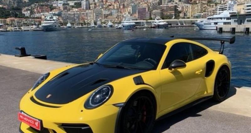 Porsche 911 Type 991 991 GT3 RS Weissach Jaune occasion à Monaco
