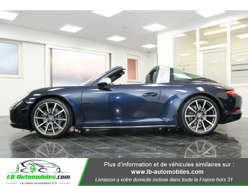 Porsche 911 Type 991 991 Targa 4 3.0i 370 PDK Bleu occasion à Beaupuy - photo n°9
