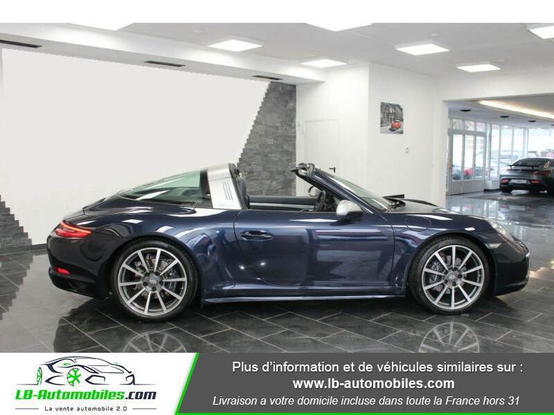 Porsche 911 Type 991 991 Targa 4 3.0i 370 PDK Bleu occasion à Beaupuy - photo n°10