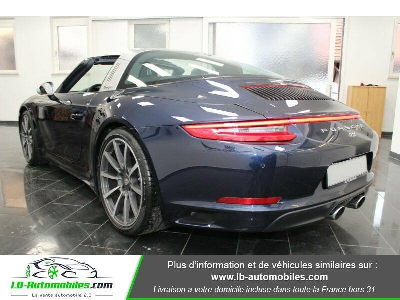 Porsche 911 Type 991 991 Targa 4 3.0i 370 PDK Bleu occasion à Beaupuy - photo n°3