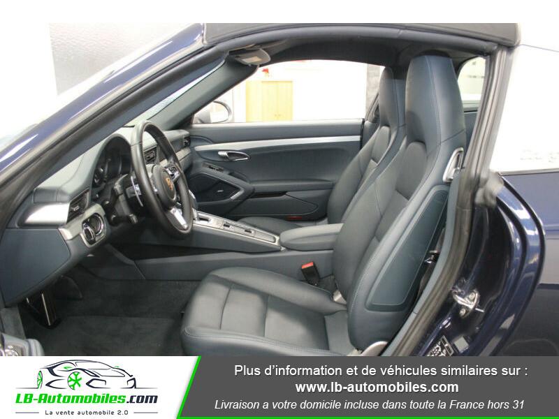 Porsche 911 Type 991 991 Targa 4 3.0i 370 PDK Bleu occasion à Beaupuy - photo n°4