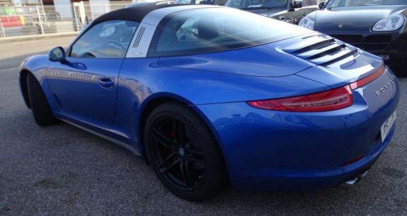 Porsche 911 Type 991 991 TARGA 4 PDK / XLF BI XENON APPLE CAR PLAY Bleu occasion à CHASSIEU - photo n°6