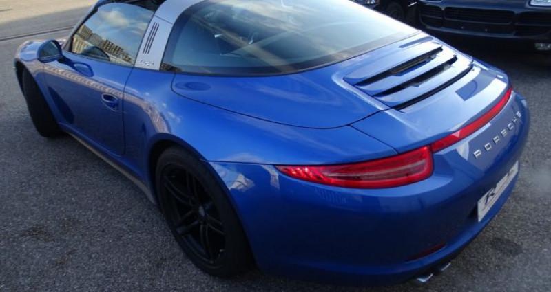 Porsche 911 Type 991 991 TARGA 4 PDK / XLF BI XENON APPLE CAR PLAY Bleu occasion à CHASSIEU - photo n°5