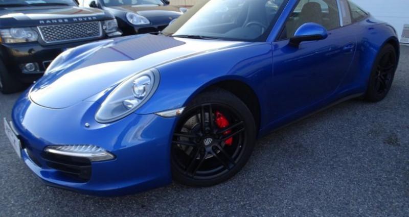 Porsche 911 Type 991 991 TARGA 4 PDK / XLF BI XENON APPLE CAR PLAY Bleu occasion à CHASSIEU - photo n°2