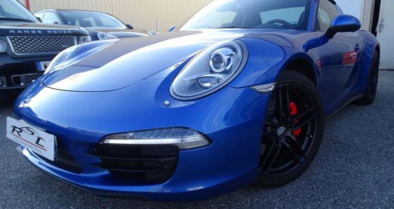 Porsche 911 Type 991 991 TARGA 4 PDK / XLF BI XENON APPLE CAR PLAY Bleu occasion à CHASSIEU