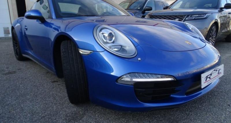 Porsche 911 Type 991 991 TARGA 4 PDK / XLF BI XENON APPLE CAR PLAY Bleu occasion à CHASSIEU - photo n°4
