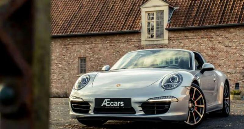 Porsche 911 Type 991 991 TARGA 4S - PDK - BELGIAN - 1 OWNER Gris occasion à IZEGEM - photo n°6
