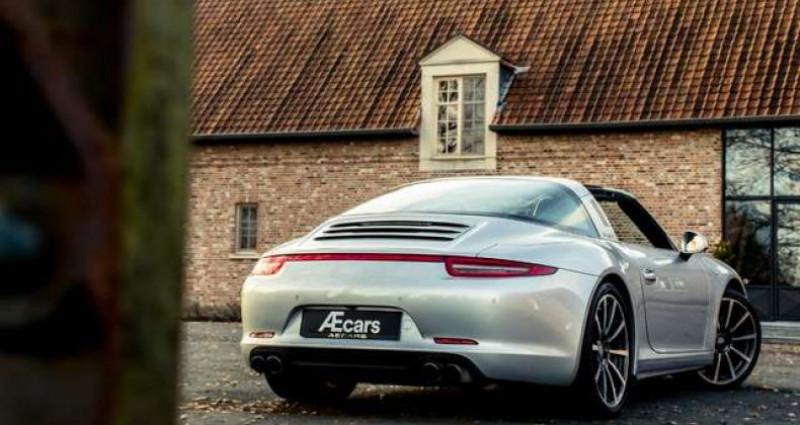 Porsche 911 Type 991 991 TARGA 4S - PDK - BELGIAN - 1 OWNER Gris occasion à IZEGEM - photo n°5