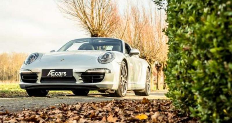 Porsche 911 Type 991 991 TARGA 4S - PDK - BELGIAN - 1 OWNER Gris occasion à IZEGEM - photo n°4