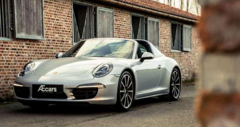 Porsche 911 Type 991 991 TARGA 4S - PDK - BELGIAN - 1 OWNER Gris occasion à IZEGEM - photo n°3
