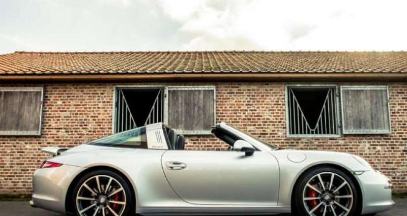 Porsche 911 Type 991 991 TARGA 4S - PDK - BELGIAN - 1 OWNER Gris occasion à IZEGEM - photo n°2