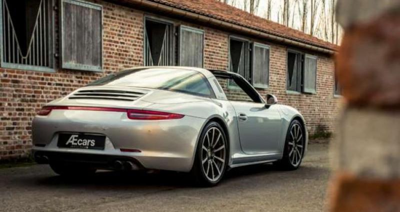 Porsche 911 Type 991 991 TARGA 4S - PDK - BELGIAN - 1 OWNER Gris occasion à IZEGEM