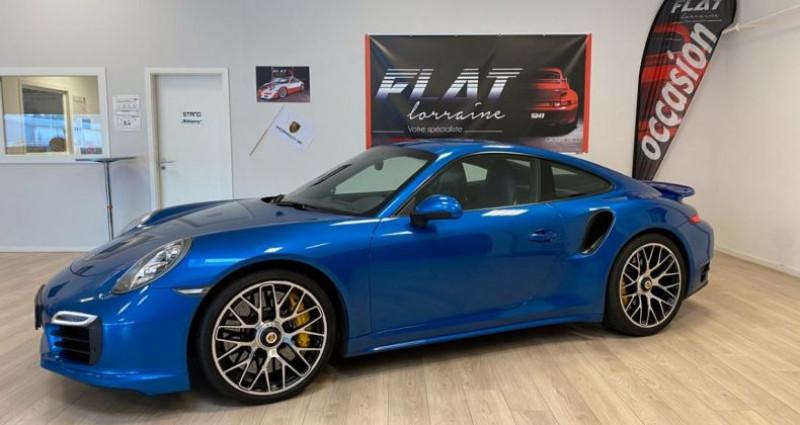Porsche 911 Type 991 991 Turbo S Bleu occasion à MARLY