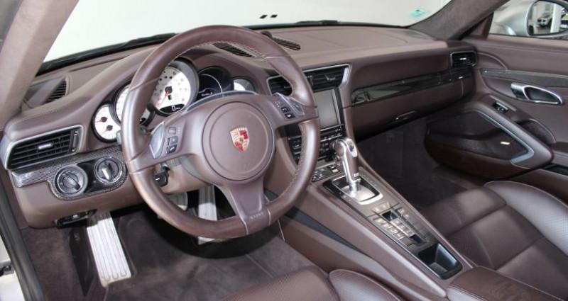 Porsche 911 Type 991 991 TURBO S Gris occasion à Le Port Marly - photo n°7