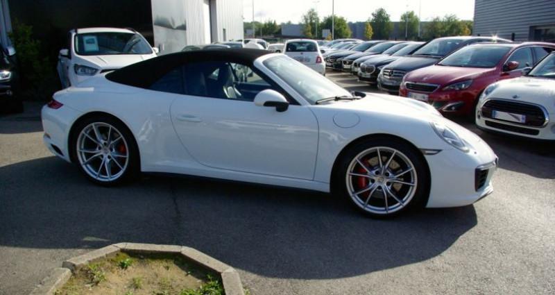 Porsche 911 Type 991 CARRERA CABRIOLET 991 4S 3.0i 420 PDK Blanc occasion à SAINT MAXIMUM - photo n°5