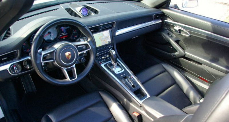 Porsche 911 Type 991 CARRERA CABRIOLET 991 4S 3.0i 420 PDK Blanc occasion à SAINT MAXIMUM - photo n°6