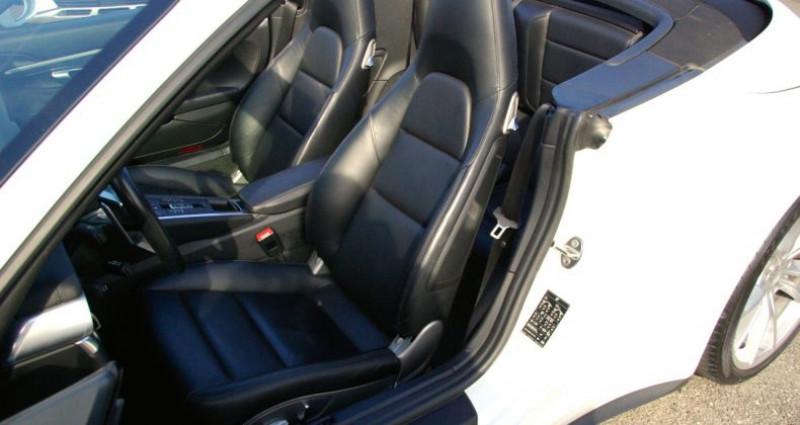 Porsche 911 Type 991 CARRERA CABRIOLET 991 4S 3.0i 420 PDK Blanc occasion à SAINT MAXIMUM - photo n°7