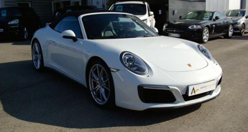 Porsche 911 Type 991 CARRERA CABRIOLET 991 4S 3.0i 420 PDK Blanc occasion à SAINT MAXIMUM